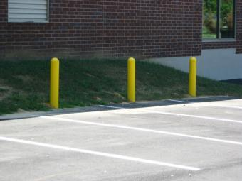 Bollards with covers