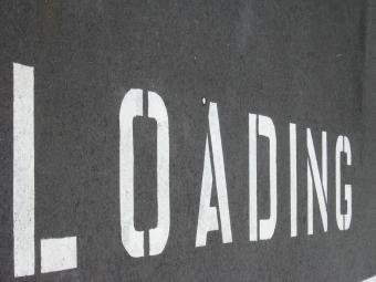 LOADING Stencil